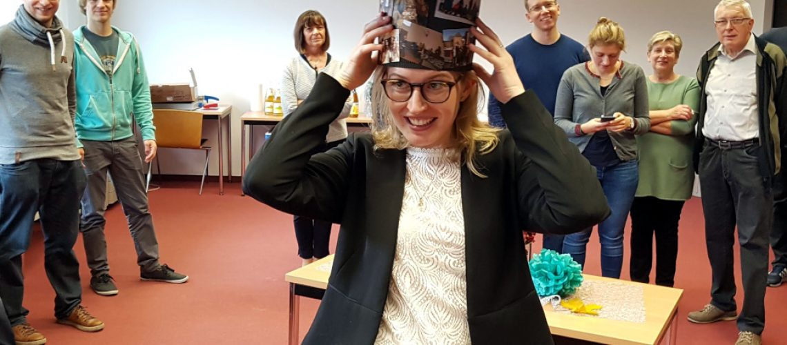 Bea in her Doctor Hat